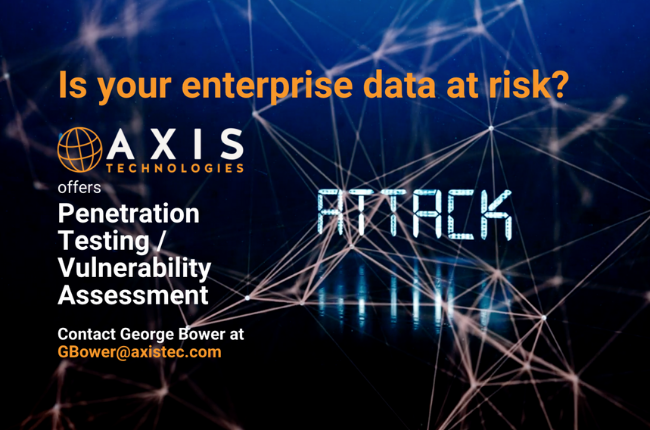 Axis Technologies Pen Testing and Vulnerabilities Testing